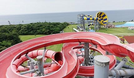 日本最大水上樂園福井縣「芝政世界」的「Triple Zaurus」
