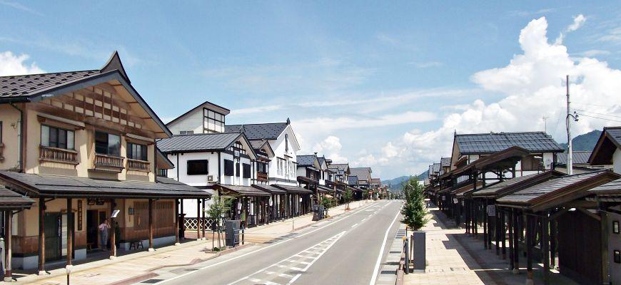新潟鹽澤宿