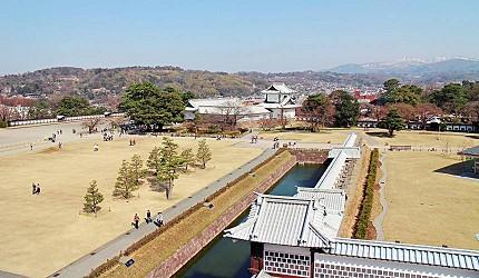 日本金澤自由行旅遊推薦行程必逛景點:金澤城公園