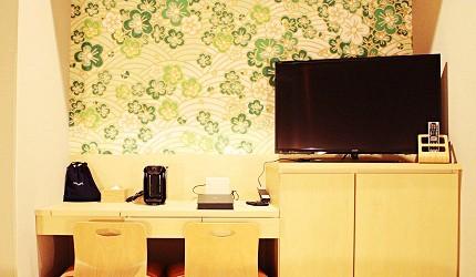 金澤飯店旅館推薦!HOTEL WING INTERNATIONAL Premium金沢駅前:大螢幕液晶電視