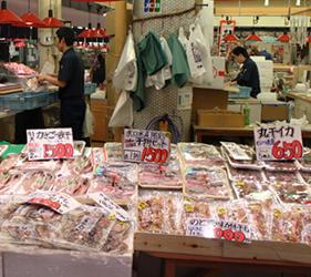 近江町市場,新鮮海鮮不輸築地市場!
