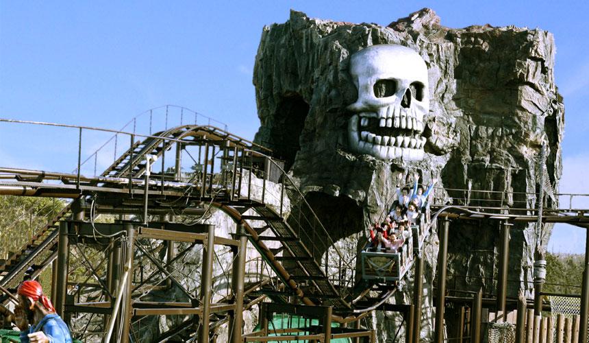日本最大水上樂園福井縣「芝政世界」的海賊樂園
