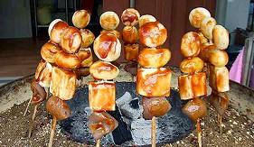 日本德島木偶串烤