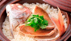 日本愛媛鯛魚飯