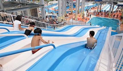 日本最大水上樂園福井縣「芝政世界」的「Adventure Slider」