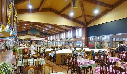日本最大水上樂園福井縣「芝政世界」的餐廳