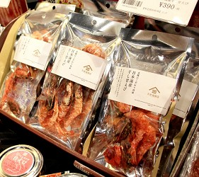 久世福商店才買得到的北陸限定商品「甜蝦干」