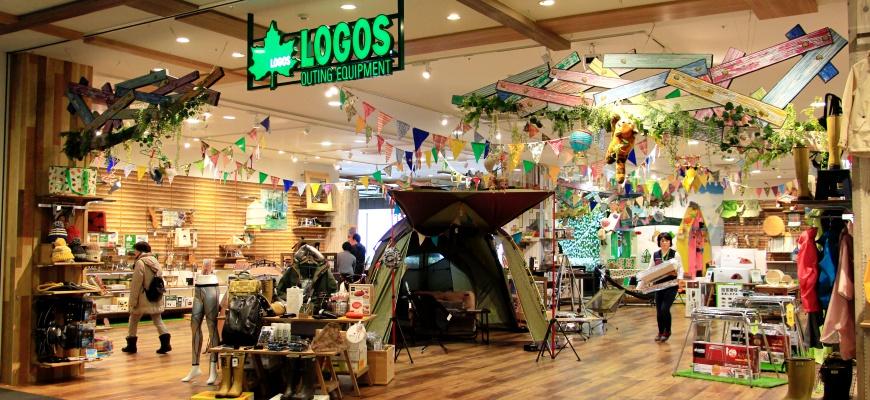 AEON MALL新小松內的LOGOS SHOP店舖