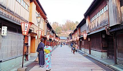 日本金澤自由行旅遊推薦行程必逛景點:東茶屋街