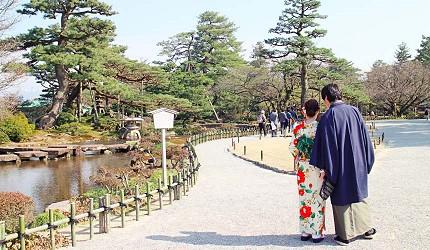 日本金澤自由行旅遊推薦行程必逛景點:兼六園