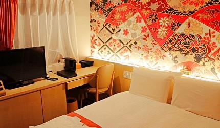 金澤飯店旅館住宿推薦!HOTEL WING INTERNATIONAL Premium金沢駅前雙人房(ダブル)