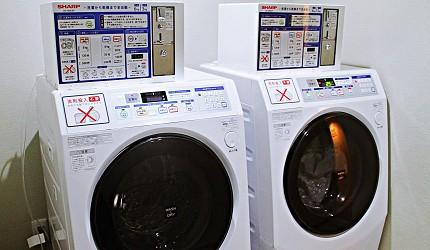 金澤住宿推薦!HOTEL WING INTERNATIONAL Premium金沢駅前,洗衣機、烘衣