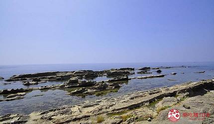 日本越光米的故鄉北陸「福井」的日本海岸