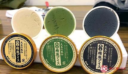 日本越光米的故鄉北陸「福井」的「ごーる堂」精進冰淇淋