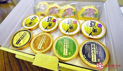 日本越光米的故鄉北陸「福井」的「ごーる堂」豆美人冰淇淋