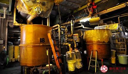 日本越光米的故鄉北陸「福井」的味噌店「米五 みそ楽」的味噌釀造工廠
