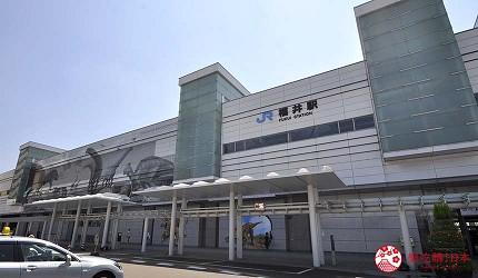 日本越光米的故鄉北陸「福井」的福井車站