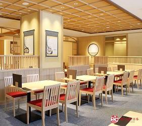 日本新潟「樂天新井度假村」(ロッテアライリゾート)的韓式餐廳「市場起司辣炒雞」店內一景