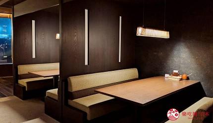 日本新潟「樂天新井度假村」(ロッテアライリゾート)的和食自助餐餐廳「朝日」餐廳一景