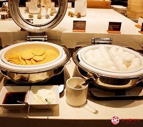 日本新潟「樂天新井度假村」(ロッテアライリゾート)的西式自助餐「The Plate」的自助餐區