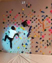 日本新潟「樂天新井度假村」(ロッテアライリゾート)的「Play Ground」的Wonder Wall