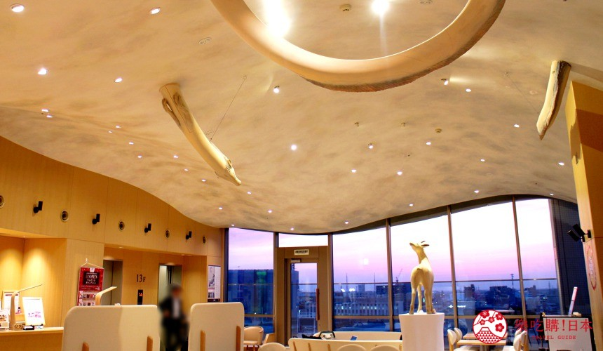 HOTEL WING INTERNATIONAL Premium金沢駅前天空藝廊的天空景色
