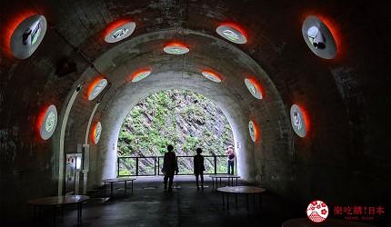 越後妻有大地藝術祭清津峽溪谷隧道TunnelofLight