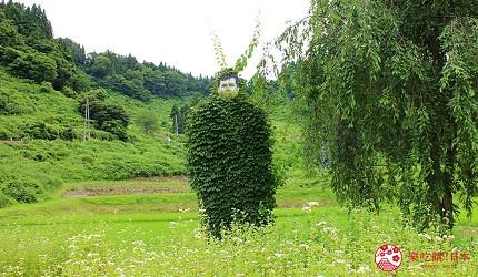 越後妻有大地藝術祭作品Thomas Eller人再度進入自然