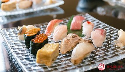 日本自由行新潟四日三夜行程中推介的高級壽司店せかい鮨